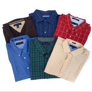Men's Tommy Hilfiger Shirts/Sweater Lot of 6